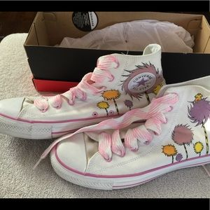 Converse Limited Edition Dr Seuss shoes